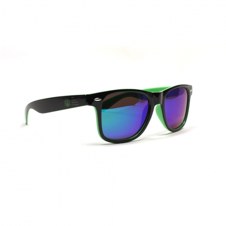 Electric Sky Sunglasses Left Side View